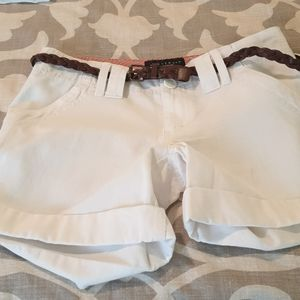 New sanctuary white shorts